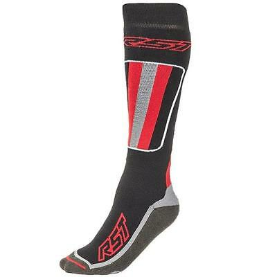 RST Socks Tour Tech Motorcycle Base Layer Wicking Black and Red