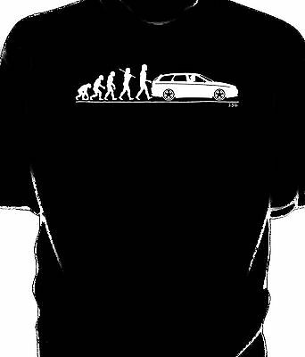 Evolution of Man, Alfa 156 Sportwagen t-shirt