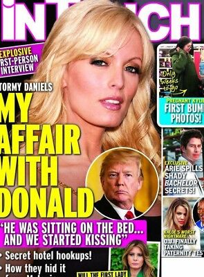 Stormy Daniels Secret Affair With President Donald Trump In Touch January 2018