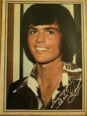 Donny Osmond, The Osmonds Brothers, Full Page Vintage Pinup