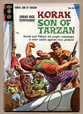 Korak, Son of Tarzan No.2  March 1964- Gold Key Comic, Edgar Rice Burroughs
