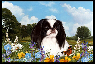 Indoor/Outdoor Summer Floor Mat - Japanese Chin (TB) 39133