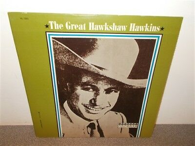 * Hawkshaw Hawkins . The Great Hawkshaw . Harmony . LP