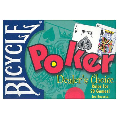 Bicycle Poker Dealers Choice - Includes 2 Decks and Rules (playing cards)