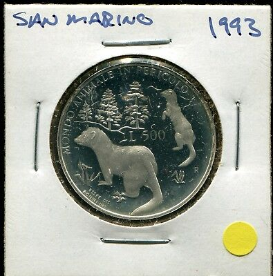 1993-R San Marino L500 Proof