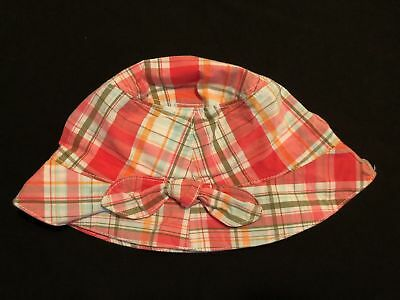Baby & Toddler Clothing NWT 0-12 Months Gymboree TROPICAL GARDEN Plaid Bucket HAT