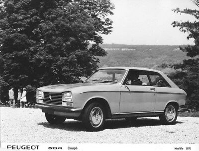 1971 Peugeot 304 Coupe ORIGINAL Factory Photo oua1613