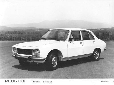 1975 Peugeot 504 Sedan GL ORIGINAL Factory Photo oua1696