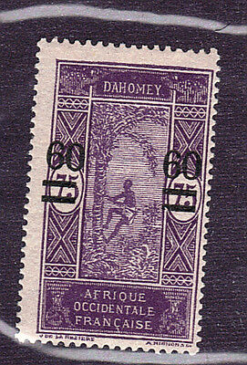 French Benin / Dahomey 1922-25 Surcharge Sc# 87 M-hinged