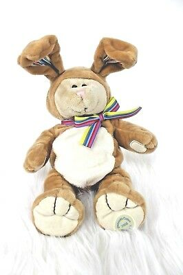 2008 Starbucks Coffee Company Bearista Bear 75th Edition Bunny Plush Easter