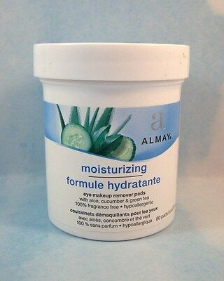 Almay Makeup Remover Pads Oil Free & Moisturizing - Various Amounts