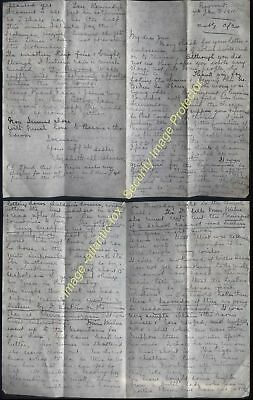1911 BEYROUT, British Syrian Mission, Missionary Elizabeth Murray Oliver to Jim
