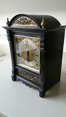 Antique double fusee bracket clock