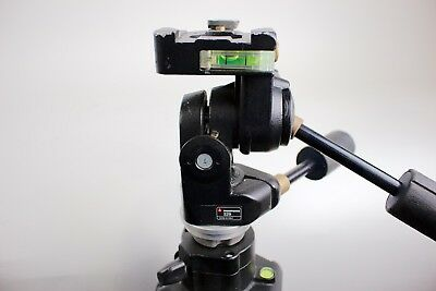 Manfrotto 475B + 229 Head | Tripod Legs + Head | Used