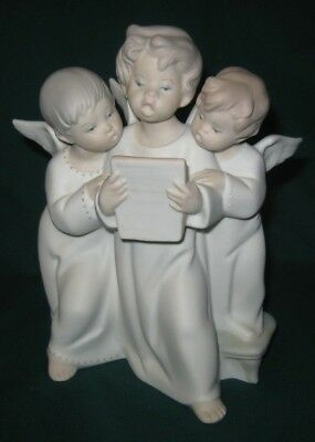 LLADRO~#542~Grupo de Angeles~3 angels~singing~Matte~