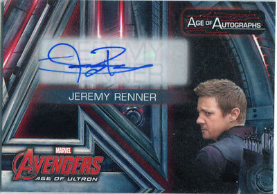 Marvel Avengers Age of Ultron Age of Autographs AA-JR Jeremy Renner