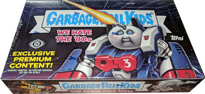 Garbage Pail Kids 2018 Series 1 We Hate the 80s Sealed Hobby Collectors Box