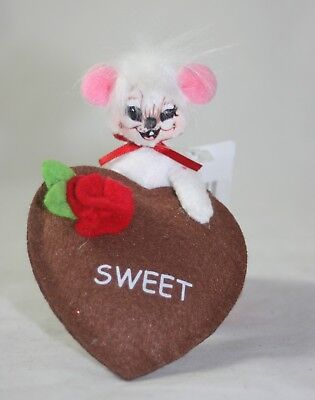 """Annalee Valentine's Day 3"""" Sweet Treats Mouse NWT"""