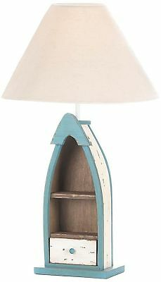 Nautical Wooden Table Lamp