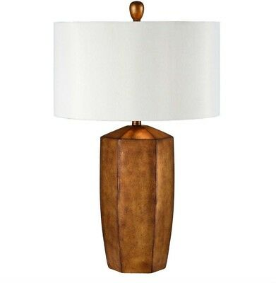 2 PC Amber Table Lamp