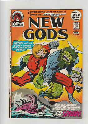 The New Gods #5 (Oct-Nov 1971, DC) F+