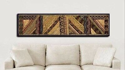 """60"""" Exquisite Indian Vintage Beaded Sequin Moti Sari Wall Décor Hanging Tapestry"""