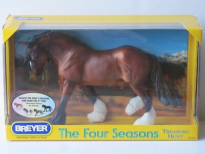 "NEW Breyer Traditional Four Seasons Treasure Hunt ""Fall"" Bay #1417 Othello Mold"