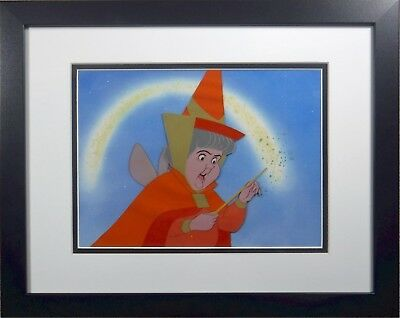 Flora Sleeping Beauty  Art Corner Disney Original Production cel Art Corner