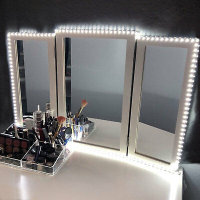 13ft Flexible LED Vanity Mirror Lights Kit Strip for Makeup Dressing Table Set