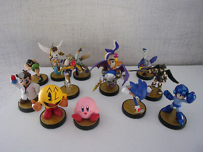 Amiibo - Game Characters to choose - Used