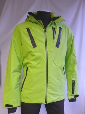 Herren Skijacke Killtec Roald High Performance lime, schwarz Gr. L