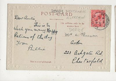 Mrs C Beeson Arden Ashgate Road Chesterfield 1924  053b
