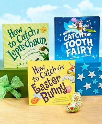How to Catch Books for Kids Hardcover, Leprechaun, Tooth Fairy and Easter Bunny