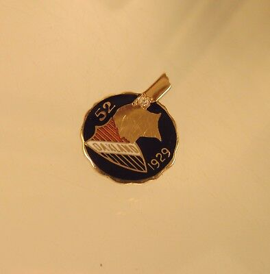 Oakland Pontiac  Gold Pin Vintage    @ A Village Coin Bullion 11/19/2 B