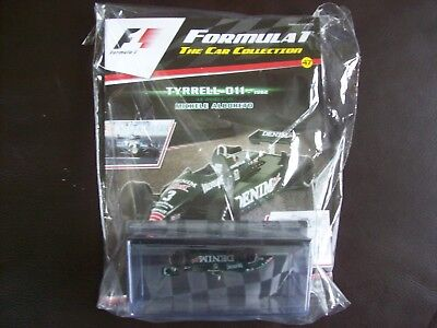 Formula 1 The Car Collection Part 47 Tyrrell 011 1982 Michele Alboreto