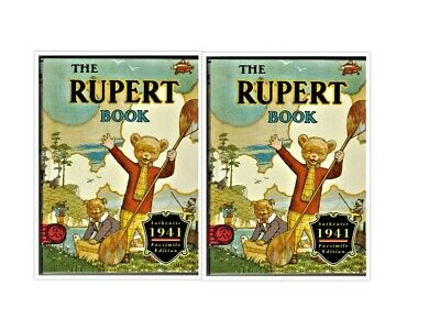 THE RUPERT 1941 FACSIMILE ANNUAL Reprint book unread in slipcase