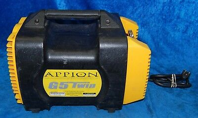 Appion Twin For Refrigerant Recovery Machine G5 Twin 115 V, 60 Hz, 10 Amp