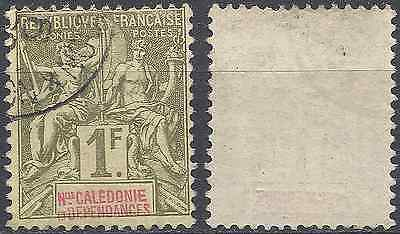 New Caledonia N°53 - Obliteration Stamp Has Date - Value