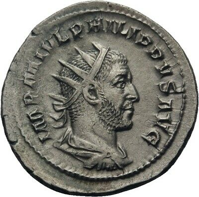 Lanz Rome Antoninianus Philip I The Arab Annona Cornucopiae »Art0200