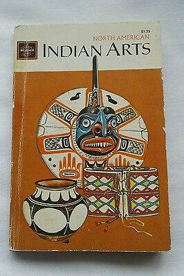 Vintage 1970 North American Indian Arts & Craft Golden Science Guide Whiteford