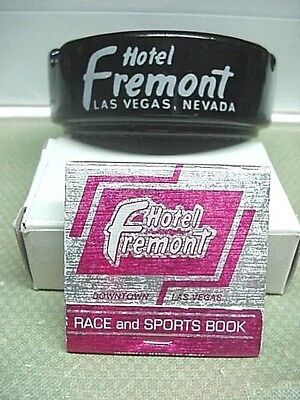 FREMONT CASINO Las Vegas Ashtray & Matchbook VINTAGE Rare