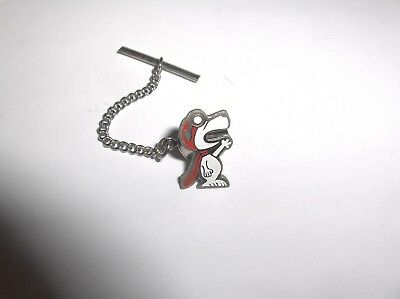 Vintage Rare Nasa Grumman Snoopy Employee Given Lapel Pin Or Tie Tack