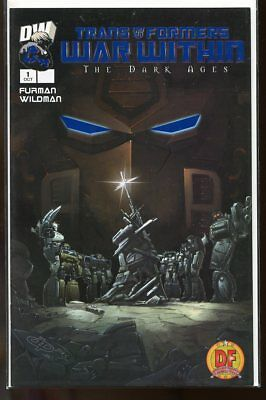 Transformers: The War Within #1 Nm 2003 Dynamic Forces Blue Foil Variant