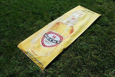 Beck's Gold Fahne - Becks gold Banner - Beck's Flagge - Becks Fahne +++