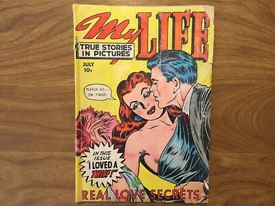 My Life True Stories in Pictures 9 1949 Fox Feature Syndicate Bruce Darrow
