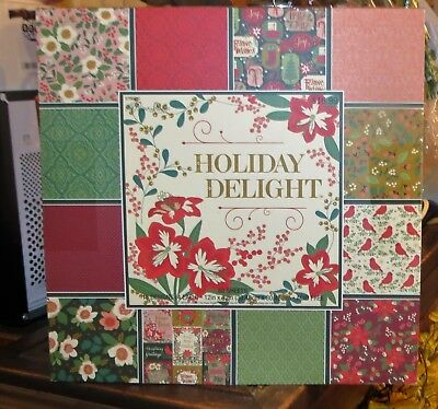 The Paper Studio Christmas Scrapbook Paper 60 Sheets 12x12 Holiday