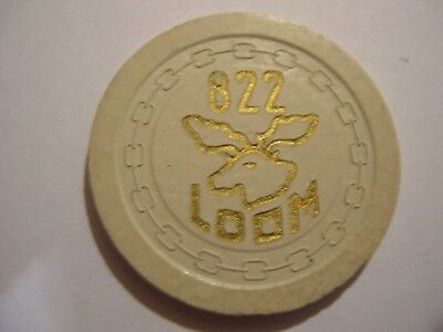 Fraternal, Moose Lodge, Minot, Nd 5 Cent Chip