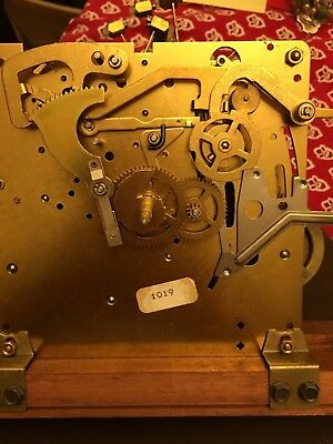 Vintage UW32535D Howard Miller Clock Brass Westminster Grandfather Movement