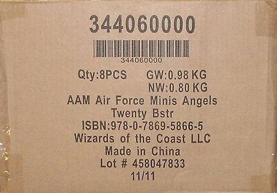 A&A Axis & Allies Miniatures Air Force Angels 20 one case of 8 boosters *sealed*