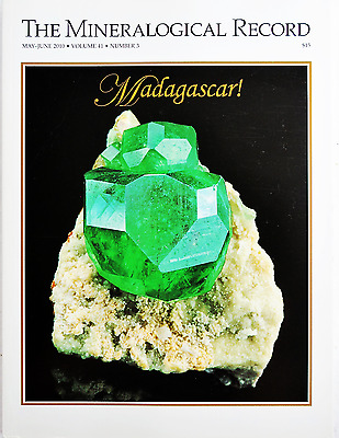 Madagascar! Mineralogical Record Andradite Tourmaline May-June 2010 Vol 41 No 3